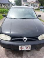 2000 Volkswagen Golf Hatchback- might part out