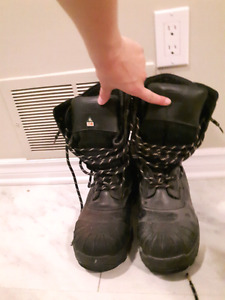 Mens winter construction boots