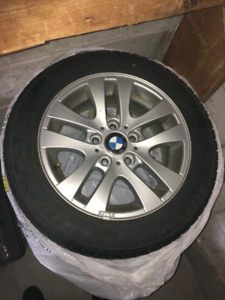 BMW 3 series winter rims and tires,