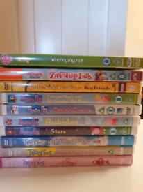 40 plus kids dvds