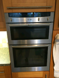 Nef double oven and gas hob