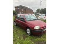 Renault Clio 1.2 long mot good condition £400
