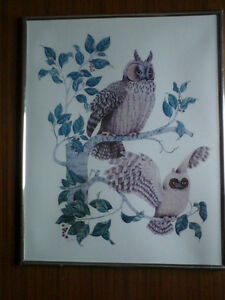TONY CHEN OWL PAINTING Kingston Kingston Area image 1