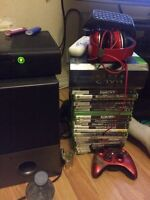 Trade 250gb Xbox & 22 games with red beats by dre for xboxone