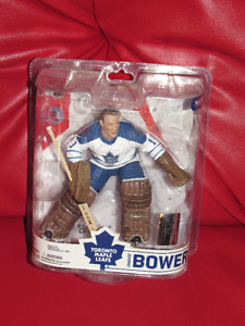 Johnny Bower Mcfarlane VARIANT Toronto maple leafs legends K14#