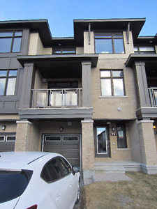 Barrhaven Urban Townhome (Brand New) for Rent