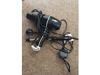 WAHL curling tong and hairdryer