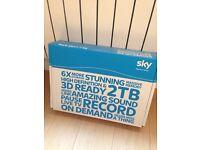 SKY + HD BOX 2TB - Brand New