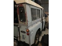 Land Rover Series 2a - project with galvanised Chassis & Bulkhead