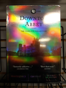 Downton Abbey: The Complete Collection on DVD - Brand New