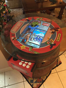 Wine Barrel Arcade Machine **500+ Games with warranty** Cambridge Kitchener Area image 6