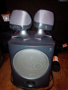 Small Speakers + Sub Woofer