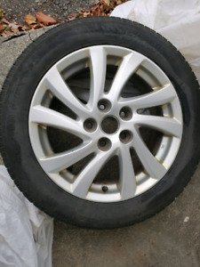 "2 Mazda 3 16"" Allow Rims"