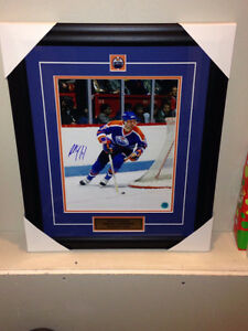 Autographed & Framed Paul Coffey Oilers Picture