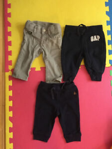 Boys 3-12 month pants