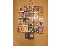 Nintendo nes retro game collection