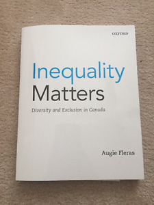 """TEXTBOOK for Sale """"Inequality Matters"""""""