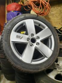 Audi 235 45 17 alloys new pirelli