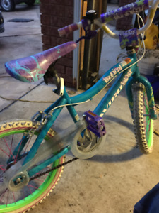 18 inch girls bike