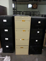 10 filing cabinets - 4 drawers each