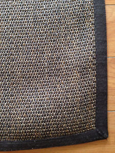 RUG - IKEA OSTED Rug, flatwoven, brown-New