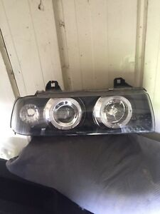 Bmw E36 headlights and taillight