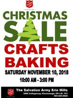 Seeking Vendors for Christmas Craft & Bake Sale