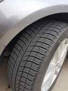 Michelin X-ICE snow tires on OEM rims