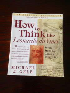 Textbook: How to Think Like Leonardo da Vinci: Seven Steps