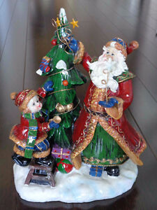Ceramic Santa, Tree, Child Strathcona County Edmonton Area image 2