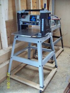 """$550/pair -- Delta 12-1/2"""" Planer and Delta 6"""" Jointer"""