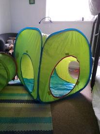 Children's tent and play tunnel- Ikea