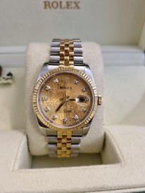 Rolex datejust 116233 2009 - day date gmt omega patek 16233