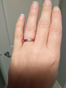 Antique Diamond and Ruby ring, value documentation included