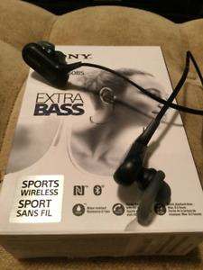 Sony Bluetooth Sport headphones