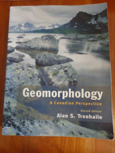 GEOMORPHOLOGY- A Canadian Perspective Textbook:  SAVE $$$!