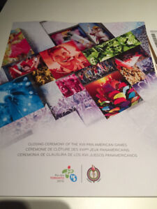 2015 PAN AM GAMES COMMEMORATIVE CLOSING CEREMONY PROGRAM