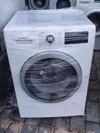 Bosch WVG30462GB Serie 6 Freestanding Washer Dryer, 7kg Wash/4kg Dry