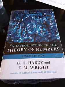 Math 364 Number Theory An Introduction to the Theory of Numbers