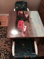 Great shape children table  with 2 chairs