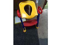 Childrens toilet seat(new)