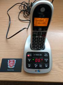 BT big button 4600 telephone answer phone