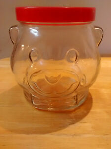 Kraft bear head jar for sale