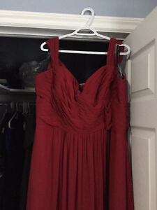 Beautiful Burgundy Dress St. John's Newfoundland image 4