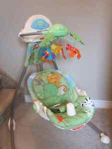 Rainforest Swing and Bouncy Chair