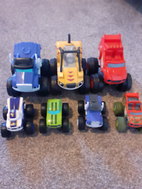 Blaze and the monster machine cars