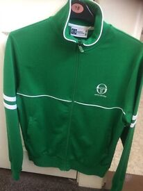 Sergio tacchini tracksuit top , worn no more than 3 times, immaculate,