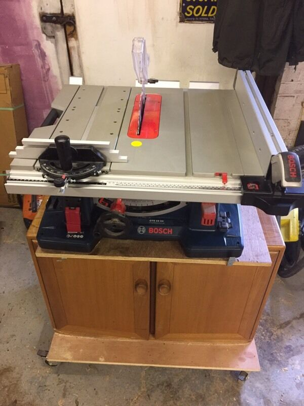 bosch gts 10 xc table saw in bedlington northumberland gumtree. Black Bedroom Furniture Sets. Home Design Ideas