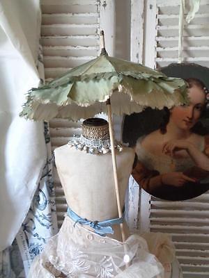 Antiker PUPPENSCHIRM Kindersonnenschirm