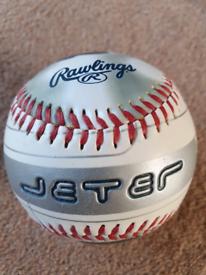 Jeter New York Yankees Rawlings baseball